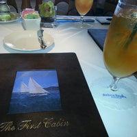 Photo taken at First Cabin @ Balboa Bay Club & Resort by Bill G. on 1/24/2014
