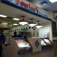 Photo taken at Dominos pizza by Rad'z R. on 1/26/2013