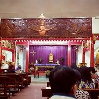 Photo taken at Gereja Santa Maria de Fatima Toasebio by Jeffry H. on 3/2/2013
