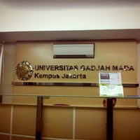 Photo taken at MM UGM Jakarta by Jeffry H. on 2/1/2013