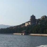 Photo taken at 昆明湖 Kunming Lake by Hannu H. on 10/27/2012