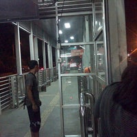 Photo taken at Halte TransJakarta Bermis by Endah S. on 6/18/2014