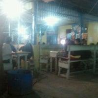 Photo taken at Warung Kopi Madurasa by hendri a. on 1/17/2012