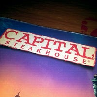 Photo taken at Capital Steakhouse by Hugo A. on 12/6/2011