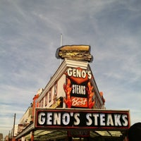 Photo taken at Geno's Steaks by Ty T. on 3/14/2012