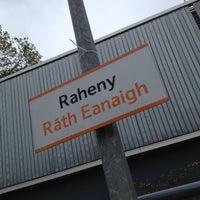 Photo taken at Raheny Dart Station by Pat M. on 5/19/2012