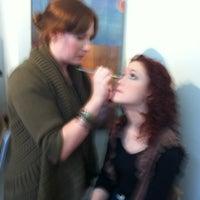 Photo taken at Tonic Hair Salon by Tina L. on 12/28/2011