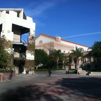 Photo taken at UCLA Bruin Plaza by Rob G. on 12/28/2012