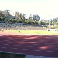 Photo taken at UCLA Drake Track & Field Stadium by Rob G. on 12/28/2012