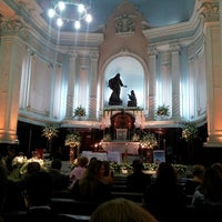 Photo taken at Igreja Matriz Santa Margarida Maria by Wladimir D. on 3/23/2013