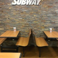 Photo taken at SUBWAY by Cesar A. on 10/29/2012