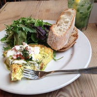 Photo taken at Le Pain Quotidien by Cheapeats I. on 7/21/2013