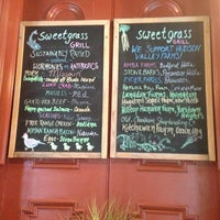 Photo taken at Sweet Grass Grill by Cheapeats I. on 7/2/2013