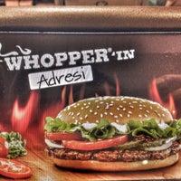 Photo taken at Burger King by Ahmet 😎😎🎱🎱🎥🎥🎯🎲🎲 on 4/19/2016