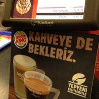 Photo taken at Burger King by Ahmet 😎😎🎱🎱🎥🎥🎯🎲🎲 on 3/18/2016