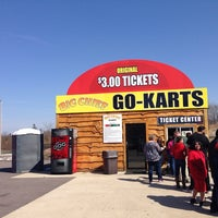 Photo taken at Big Chief's Go Carts by Laura on 3/30/2014