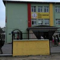 Photo taken at Düzce Güzel Sanatlar Lisesi by Mustafa A. on 11/11/2015