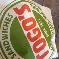 Photo taken at TOGO'S Sandwiches by Denean R. on 4/5/2013