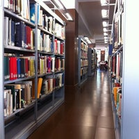 Photo taken at Biblioteca Escuela Técnica Superior de Arquitectura (UPM) by Paco C. on 10/10/2012