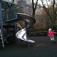 Photo taken at James Michael Levin Playground by Regiane V. on 12/8/2012