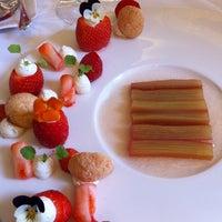 Photo taken at Le 144 - Restaurant Petrossian by Elle E. on 5/21/2014