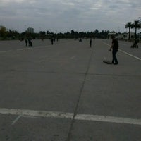 Photo taken at Skatepark Parque O'Higgins by Amanda R. on 4/15/2017