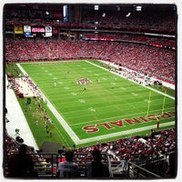 Photo taken at University of Phoenix Stadium by Clintus M. on 9/30/2012