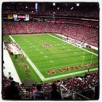 Photo taken at University of Phoenix Stadium by Clintus M. on 9/30/2012