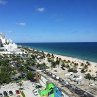 Photo taken at Courtyard Fort Lauderdale Beach by Jon B. on 10/28/2013