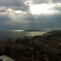 Photo taken at Conrad Istanbul Bosphorus by Guray E. on 11/30/2012