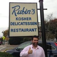 Photo taken at Rubin's Kosher Delicatessen by Phil R. on 10/24/2012