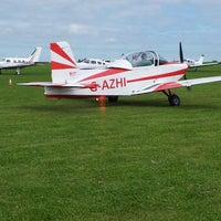 Photo taken at Sywell Airport by Ann W. on 6/1/2013