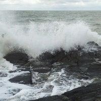 Photo taken at Tresaith Beach by Ann W. on 9/24/2012