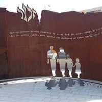 Photo taken at Holocaust Memorial Monument by Adam S. on 1/18/2013