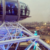 Photo taken at The London Eye by Anton S. on 9/29/2013