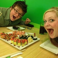 Photo taken at Edamame Sushi & Grill by Helene on 3/2/2013