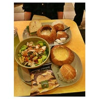 Photo taken at Panera Bread by M on 1/16/2013