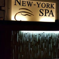 Photo taken at New York Spa by Nelson G. on 11/2/2015