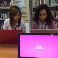 Photo taken at UPHSL Library by Gelaaay . on 3/15/2016