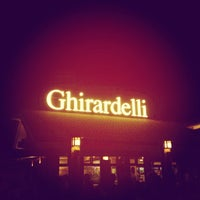 Photo taken at Ghirardelli Ice Cream & Chocolate Shop by Kimberly W. on 1/27/2013