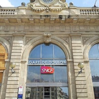 Photo taken at Gare SNCF de Toulon by Safee A. on 4/8/2013