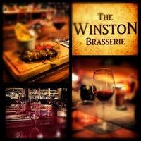 Photo taken at The Winston Brasserie by Gürhan Ş. on 11/6/2012