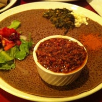 Photo taken at Abyssinia Ethiopian & Eritrean Restaurant by Kenneth T. on 4/6/2013