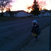 Photo taken at School Bus Stop by ippy ツ on 11/6/2012