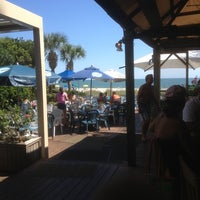 Photo taken at Bummz Beach Cafe by Harley A. on 9/27/2012