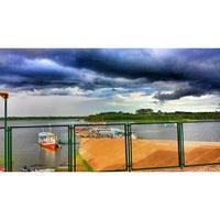 Photo taken at Manaquiri, Amazonas by Cleber Peres J. on 1/15/2014