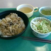 Photo taken at ダイビル食堂 by kiriko on 2/13/2015