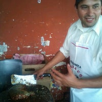 Photo taken at Barbacoa y Consome Chano by Luigui R. on 9/29/2012