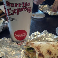 Photo taken at Burrito Express - College by Armando L. on 2/2/2013