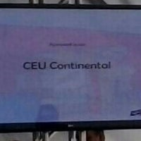 Photo taken at Ceu Continental by Mayra F. on 3/19/2013
